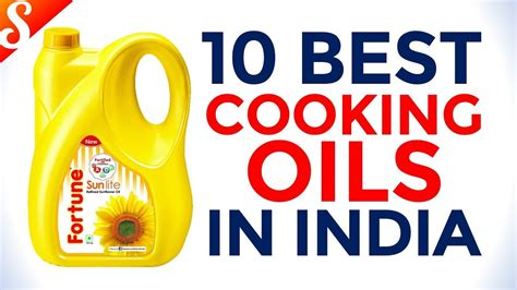 10 Best Cooking Oil Brands In India With Price  Youtube