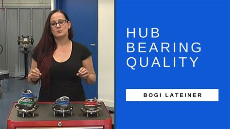 Explaining Hub Bearing Quality To Shops With Bogi Youtube