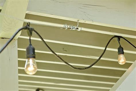 we how to hang and hanging lights on