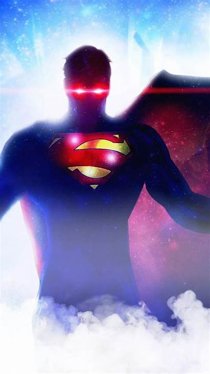 Superman Iphone Wallpapers 4k Vision Heat Mobile