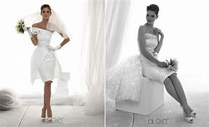 Little white wedding dress 2013 bridal spose di gio 1 for Little white wedding dress
