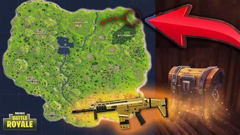 omg  loot locations  fortnite legendery weapons