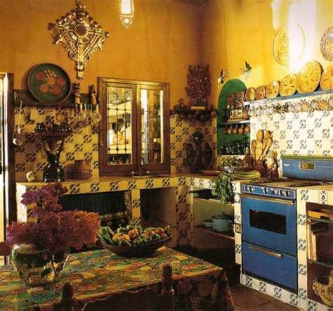 Have A Mexican Style Kitchen Uprintid