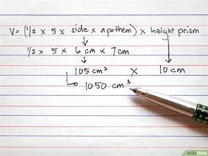 Kubikmeter Berechnen : das volumen von einem prisma berechnen wikihow ~ Themetempest.com Abrechnung