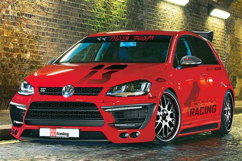 vw golf 7 tuning vwvortex mk7 gti on air suspension photoshop