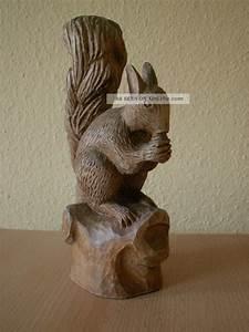 Eichhörnchen Aus Holz : holzfigr eichh rnchen naturholz geschnitzt signiert und datiert ~ Orissabook.com Haus und Dekorationen