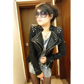 Best Punk Studded Leather Jacket Products Wanelo