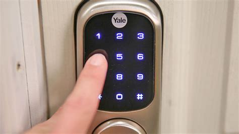 Yale Real Living Touchscreen Z-Wave Deadbolt review: Yale ...