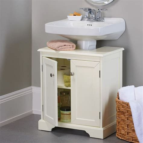 Pedestal Sink Storage Cabinet by Weatherby Bathroom Pedestal Sink Storage Cabinet Storage