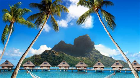 wallpaper bora bora   wallpaper french polynesia