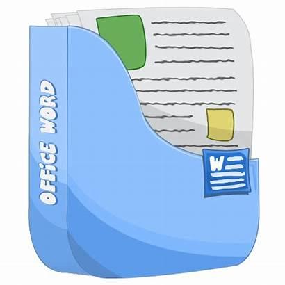 Word Icon Microsoft Icons Cartoon Ico Letter