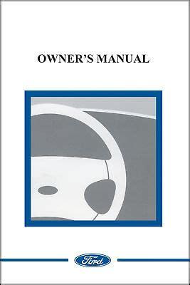 ford  police interceptor sedanutility owner manual