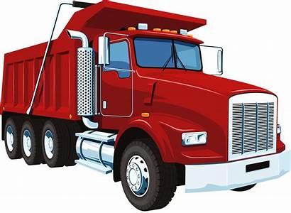 Dump Truck Clip Clipart Silhouette Graphics Svg