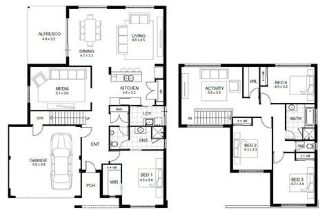 floor plan designer 2 floor house plans and this 5 bedroom floor plans 2