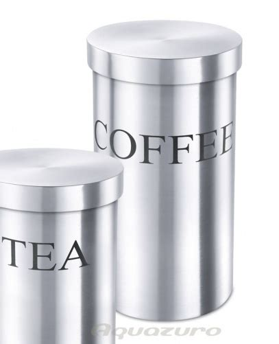 zack kitchen accessories coffee canister stainless steel zack vivace kitchen 1235