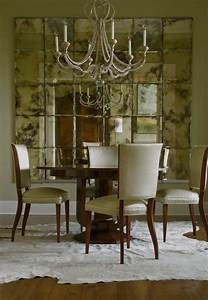 Decorate Dining Rooms with Mirrors