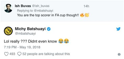 Batshuayi reaction to being Chelsea's FA Cup top goalscorer