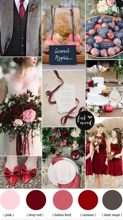 wedding color schemes for fall fall wedding inspiration simple elegance by