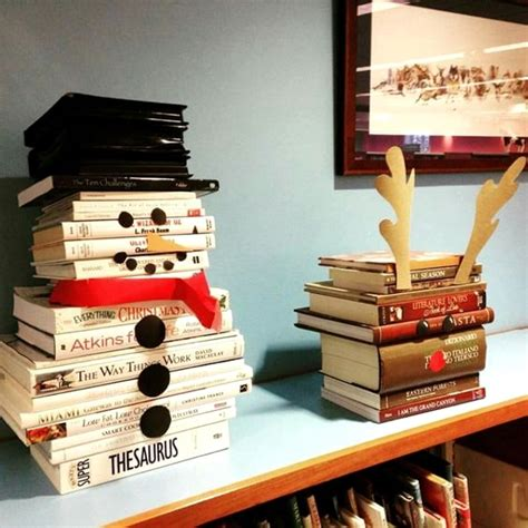 white books for decoration 50 best diy snowman decoration ideas pink lover