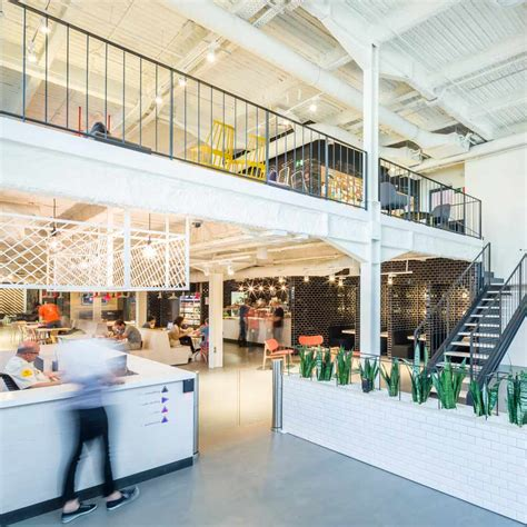 Jump Studios Completes Google Coworking Space In Former