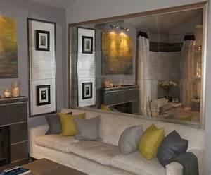 Spiegel Für Wohnzimmer : spiegelwand in der wohnung 42 coole ideen ~ Sanjose-hotels-ca.com Haus und Dekorationen