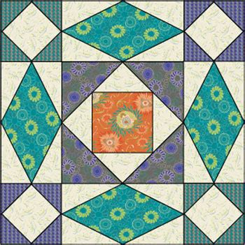 At Sea Quilt Template by Quilt Inspiration At Sea Quilts Free Block