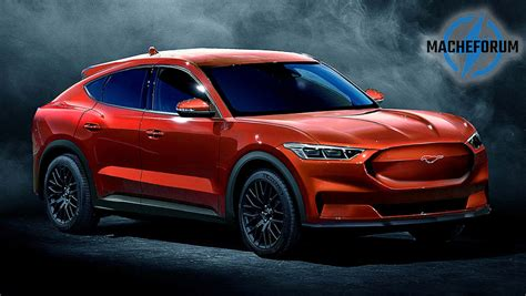fords electric mustang suv named australian launch
