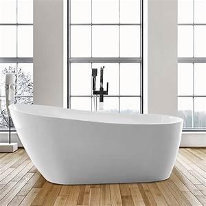 Vanity, Art, Acrylic, 55, U0026quot, X, 28, U0026quot, Freestanding, Soaking, Bathtub, U0026, Reviews