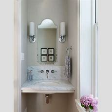 Best 25+ Small Powder Rooms Ideas On Pinterest Mirrored