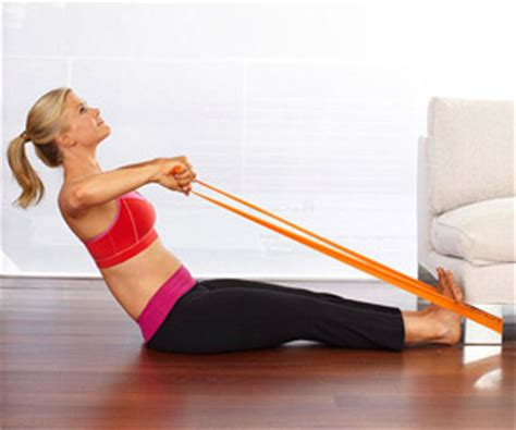 Row Your Boat Abs by Alison Sweeney S At Home Workout Fitness Magazine