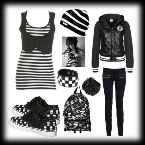 Emo Girl Clothes on Pinterest | Cute Emo Outfits Scene ...