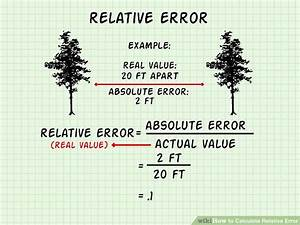 Relativer Fehler Berechnen : how to calculate relative error 9 steps with pictures ~ Themetempest.com Abrechnung