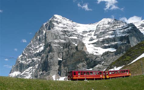 Jungfrau Mountain Switzerland Map