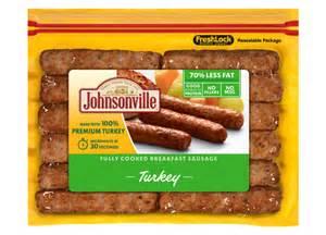 turkey fully cooked breakfast sausage johnsonville