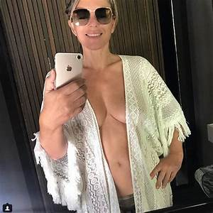 The Royals' Elizabeth Hurley Nearly Flashes Nipple in ...