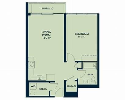 Kapiolani Residence Floor Plan Market Rate Interior
