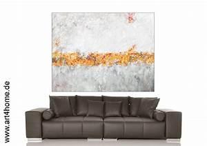 Große Bilder Auf Leinwand : sonnenlinie acrylmalerei auf leinwand 160 125 cm ~ Lateststills.com Haus und Dekorationen