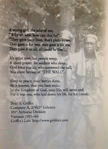 Poem Honoring Vietnam Veterans