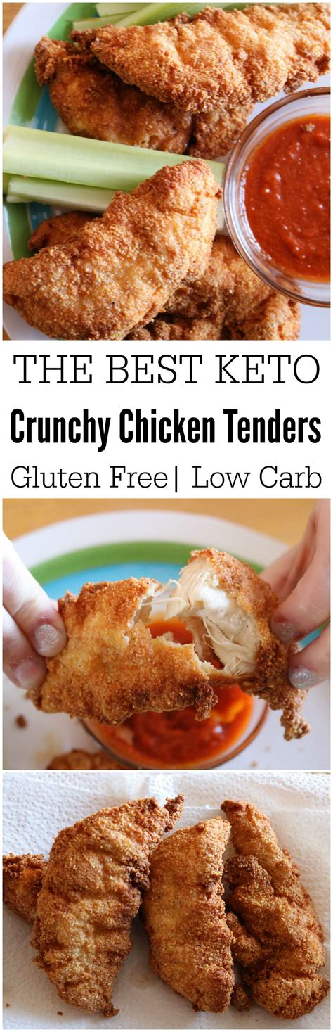 keto chicken tenders recipes carb recipe low friendly easy gluten fryer air kid fried strips thighs wings food healthy foods