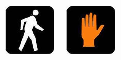 Crosswalk Signal Traffic Signals Cross Safety Portable