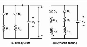 Series And Parallel Connected Diodes