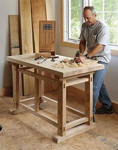 Fine Woodworking Workbench : Amazing Black Fine