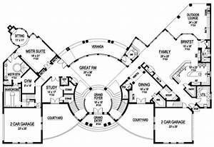 House, Plan, 5445, 00188, Luxury, 10, 639, Square, Feet, 6, Floor