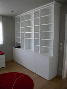 Bibliothèque Ikea Blanche : eclairage bibliotheque ikea maison design ~ Preciouscoupons.com Idées de Décoration