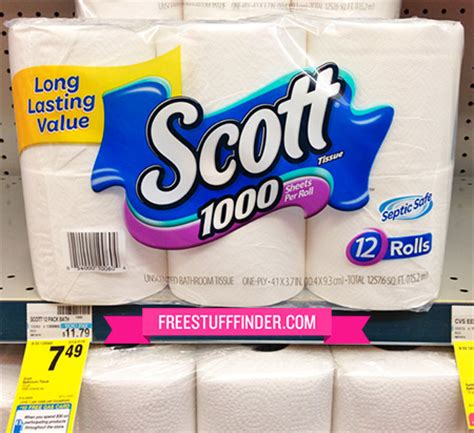 reg  scott toilet paper  cvs