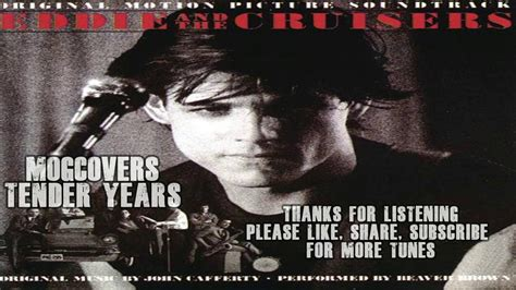 eddie and the cruisers tender years cover