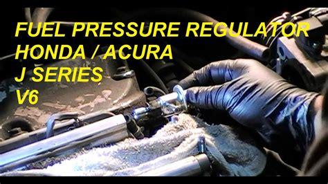 diy acura honda fpr fuel pressure regulator  series