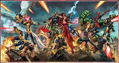 Wallpapers Marvel Xmen Campbell Scott Backgrounds Avengers