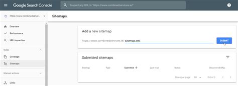 Xml Sitemap Submitted Google Search Console Digital