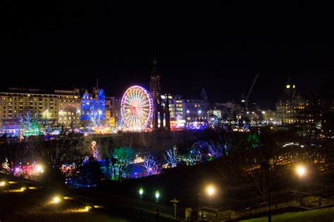 edinburgh feature edinburgh s christmas light night